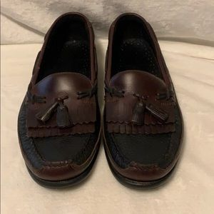 Sperry Topsider Two Tone Tassel Loafer Size 11.5M